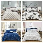 Traditional Duvet Cover Quilt Cover Pillow Shams Queen King Size Bedding Set US image