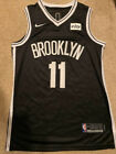 Kyrie Irving #11 Brooklyn Nets Men's Black Icon Basketball Swingman Jersey