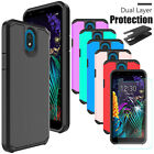 For LG Journey LTE L322DL Shockproof Hybrid Case Phone Cover /Screen Protector