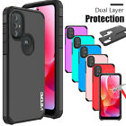 For LG Journey LTE (L322DL) Shockproof Hybrid Case Phone Cover /Screen Protector