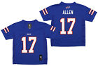 Outerstuff NFL Football Boys Buffalo Bills Josh Allen Mid-Tier Player Jersey $34.99 USD on eBay