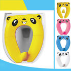 1PC Potty Training Seat Kids Foldable Secure Trainer Seat Potty Seat for Toddler image