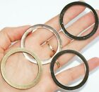 FLAT WELDED O-Rings ~ 40mm inner dia ~ Large Metal Leathercraft BUCKLES O Rings