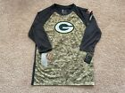 NEW Nike Green Bay Packers Salute to Service 3/4 Sleeves Shirt $24.99 USD on eBay