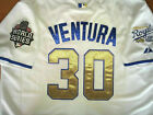 Kansas City Royals #30 Yordano Ventura Throwback Jersey New Tag WS patch WHITE on Ebay