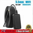 WiFi Endoscope Semi-Rigid Borescope 1920P Wireless Inspection Camera Android IOS