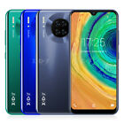 """4g Mate 30 Android 9.0 Unlocked 6.3"""" Mobile Phone 2 Sim Smartphone Quad Core Gps"""