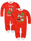 Girls Official Minne Mouse Disney Christmas Babygrow New Kids Suit 3-23 Months