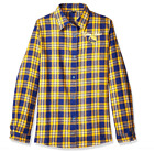FOCO NBA Women's Golden State Warriors 2016 Wordmark Basic Flannel Shirt on eBay