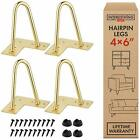 Solid Hairpin Legs for Coffee Table Desk Chair Home DIY Projects All sizes