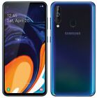 "Samsung Galaxy A60 SM-A6060 FACTORY UNLOCKED 6.3"" 128GB 6GB RAM Black Orange"
