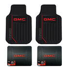 GMC All Weather Floor Mats Seat Covers Steering Wheel Cover License Plate Frames