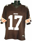 Reebok NFL Football Women's Cleveland Browns Braylon Edwards #17 Jersey, Brown $19.99 USD on eBay
