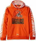Zubaz NFL Football Men's Cleveland Browns Zebra Accent Solid Hoodie $44.99 USD on eBay