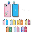 Official BTS Figure Color Soft Jelly Phone Case Cover 1st Ver+Free Gift Kpop