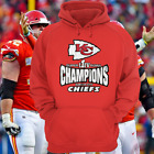 Super Bowl LIV 54 Champions Kansas City Chiefs T Shirt Hoodie Size S-5XL $27.99 USD on eBay