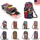 US Multi-color Small Cross Body Purse for Womens Shoulder Bag Girls Cell Phone image