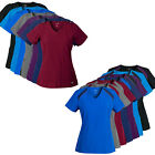 Medgear 2-PACK SuperFlex ActiveWear Stretch Scrub Top Combo