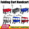 More images of Heavy Duty Garden Cart Collapsible Folding Wagon Handcart Trolley Steel Outdoor