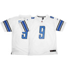 Nike NFL Youth Detroit Lions Matthew Stafford #9 Jersey, White $19.99 USD on eBay