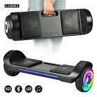 "UL 6.5"" Bluetooth Self Balancing Electric Scooter Smart Hoverboard LED NO Bag"