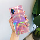 Gradient Rainbow Laser Case Phone Cover For Samsung Galaxy S20 Ultra S10 A51 A71