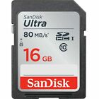 Sandisk SD Card 16gb 32gb 64gb ultra SDHC Camera Flash Memory Class 10 Full HD