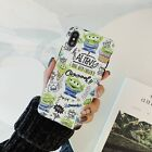 Cute Cartoon Toy Story Alien Soft Imd Phone Case For iPhone 11 Pro XS Max 6/7/8+