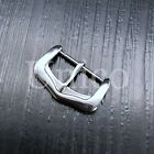 16-22 MM Watch Buckle Polished Silver Steel Leather Strap Clasp Wholesale Lot