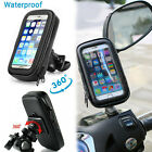 360 Rotating Waterproof Case For iPhone Bike Bicycle Handle Mount Holder Cover