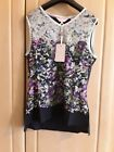 New Ted Baker Vest Tee Top RRP 59. Size Uk 6-14