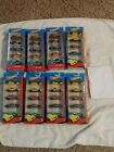NEW HOT WHEELS 5 PACKS - YOU PICK - HW FLAMES BATMAN POLICE TRACK ACES