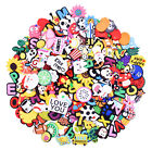 US Stock Different 24-200pcs Shoe Charms Accessory Fit Hole Clog For Kids Gifts