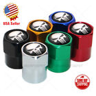 Hex Punisher Skull Logo Car SUV Wheels Tire Air Valve Caps Stem Dust Cover Sport $8.99 USD on eBay