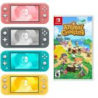 Kyпить NEW Nintendo Switch Lite Animal Crossing Turquoise Gray Yellow Coral PICK COLOR на еВаy.соm