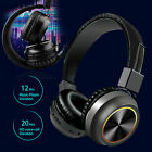 Kyпить Sweatproof Wireless Headphones Over Ear Foldable Stereo Noise Cancelling Headset на еВаy.соm