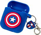 Marvel Apple AirPods Case Silicone Protective Cover Avengers Characters