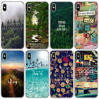 landscape Pattern Thin Soft TPU Phone Case Cover For iPhone XS Max X 8 7 Plus 6S
