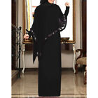 Abaya Cape Long Dress Muslim Colak Gown Maxi Party Women Kaftan Dubai Ramadan