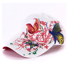 AKIZON Fashion Baseball Cap Hats For Women Snapback Butterflies Flowers FemaLe #