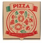 Pizza Boxes, Takeaway Pizza Cake Strong Quality Postal Boxes Brown 7