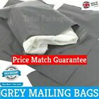 9 x 12 (230mm x 305mm) Grey Mailing Post Mail Postal Bags Poly Postage Self Seal