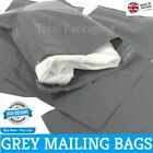 Grey Mailing Bags Poly Mailers 21 x 24 (535mm x 610mm) Post Mail Postal Envelope