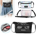 Casual Womens Fanny Pack Shiny Leather Pouch Belt Bag Waist Phone Pocket Travel