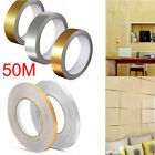 For Kitchen Self Adhesive Waterproof Floor Tile Tape Wall Stickers 0.5cm X 50m
