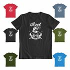 Reel Cool Dad Great father's day casual Fishing Tee Funny Men's Gift T-shirt image