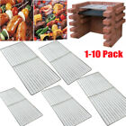 Replacement Heavy Duty 3.6mm Stainless Steel BBQ Cooking Grill 45*30cm 1-10 Pack