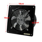 "4"" 6"" 8"" Ventilation Extractor Exhaust Fan Blower Wall Mounted Toilet Home Fans"