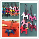 New Handmade Synthetic Leather Horse Bag Hanging Bag Accessories Keyring Charm