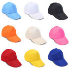 Hot Sale Unisex Adjustable Baseball Cap Solid Color Hip Hop Sport Hat Multicolor